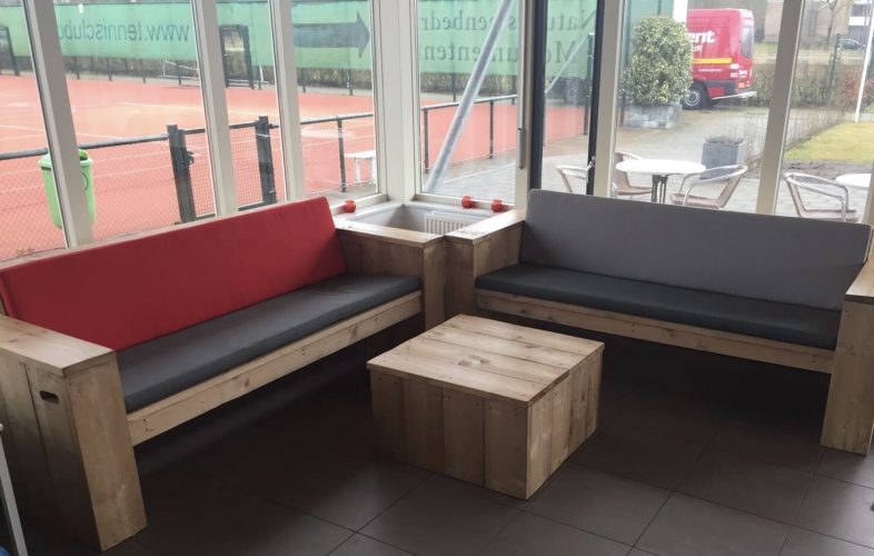 DLTC steigerhout meubilair