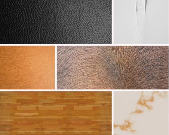 stadsappartement woonkamer-materiaalenkleur